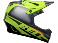 Bell Helm Full 9 Fusion Mips Matte/Gloss Black/Bright Green