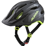 Alpina Fahrradhelm Carapax Junior MTB Black Neon Yellow