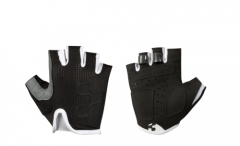 CUBE Handschuhe Junior Race Blackline kurzfinger black n white