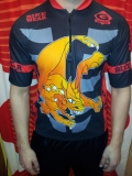 G-Sport Bike Jersey Drachen Black/Red/Orange (Schwarz/Rot/Orange)