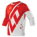 Troy Lee Designs Ruckus Jersey Rekon Fire Red