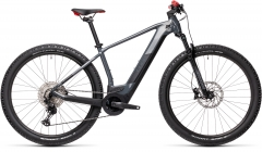 Cube Reaction Hybrid Race 625 grey`n`red 29er