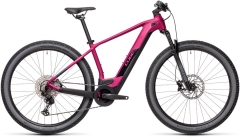 Cube Reaction Hybrid Race 625 berry`n`black 29er