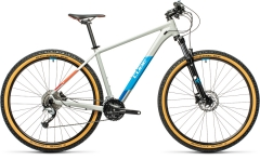Cube Aim SL grey`n`blue`red 29er