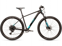 Cube Analog black`n`petrol 29er RS