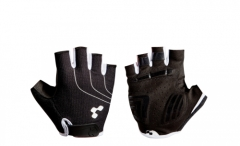 CUBE Handschuhe Natural Fit Blackline kurzfinger black n white