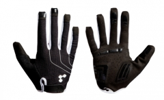CUBE Handschuhe Natural Fit Blackline langfinger black n white